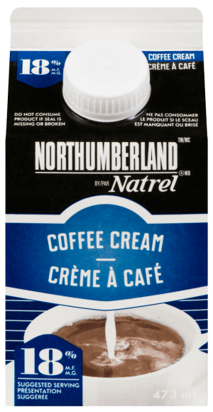Northumberland 18% Coffee Cream