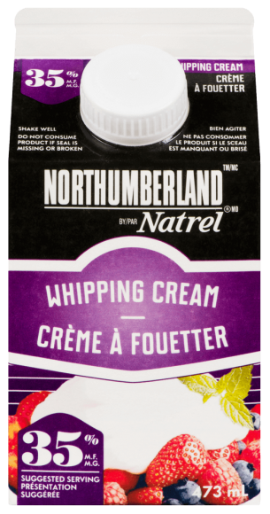Northumberland 35% Whipping Cream