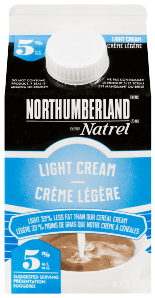 Northumberland 5% Light Coffee Cream