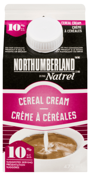 Northumberland 10% Cereal Cream