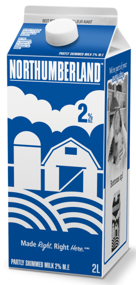 Northumberland 2% White Milk