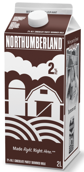 Northumberland 2% Chocolate Milk