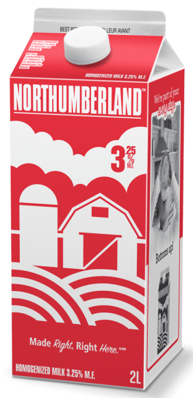 Northumberland Homogenized White Milk