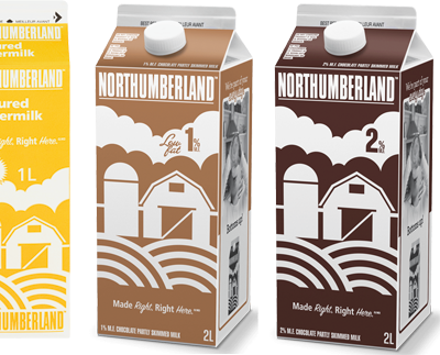 Northumberland Flavoured Milks