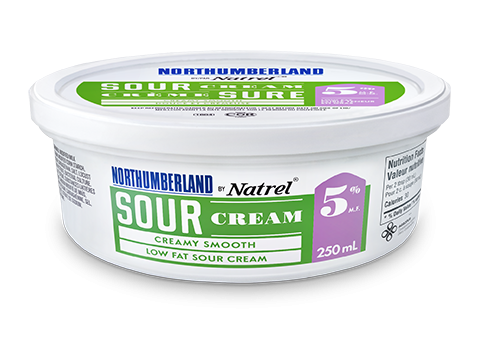 Northumberland 5% Sour Cream 250 milliliters