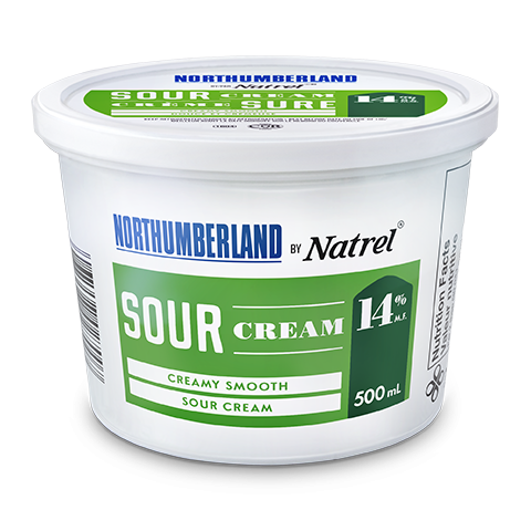Northumberland 14% Sour Cream 500 milliliters
