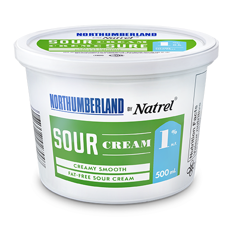 Northumberland 1% Sour Cream 500 milliliters